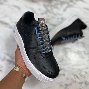 WMNS Black Nike Air Force 1 07 LX Size 5